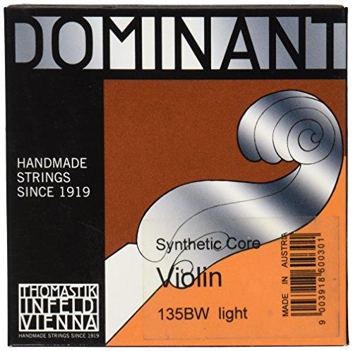 Thomastik 633627 Saiten für Violine Dominant Nylonkern - Weich