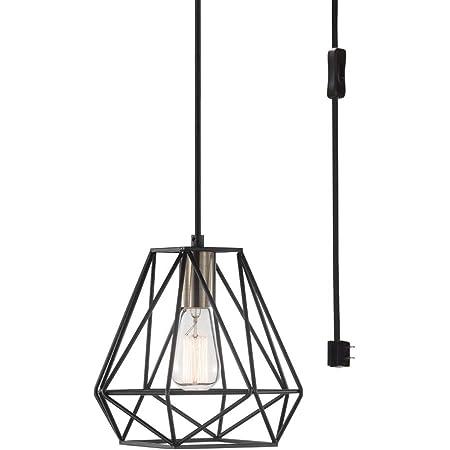 Clear Glass Shades 60872 Globe Electric Harrow 5-Light Chandelier Gold Accent Sockets Matte Black