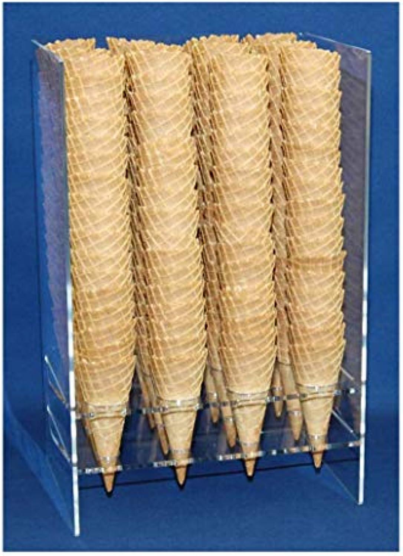 Eistütensilo für ca. 200 mittelgroe Eiswaffeln Eishrnchen