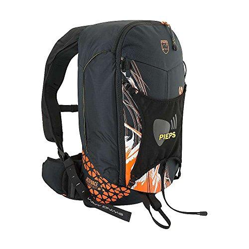 Pieps Jetforce Rider 10 Lawinenairbag, Farbe:Black/orange