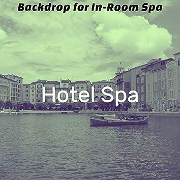 Backdrop for In-Room Spa
