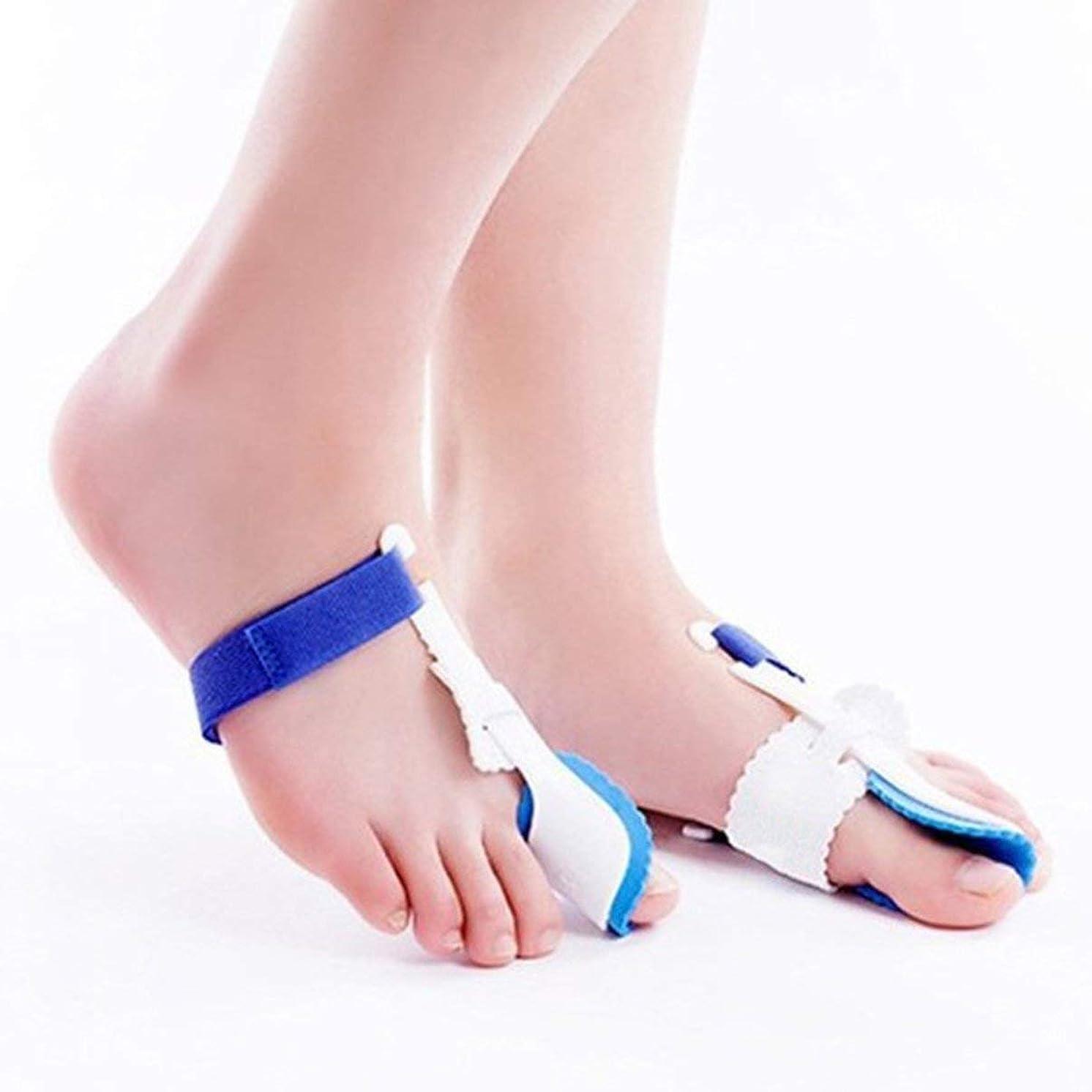 気分失速虫Universal Night Use Big Toe Bunion Device Splint Straightener Hallux Valgus Pro Braces Toe Correction Separator