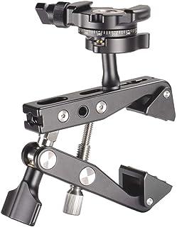 XIANYUNDIAN لكاميرا DSLR حامل ذراع سحري بمشبك فائق لكاميرا LCD شاشة LED ضوء ثلاثي لكاميرات نيكون لكاميرات سوني إكسسوارات ا...