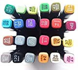 Touch Cool 24 Colours Twin Headed Sketch Marker for Manga and Impression Good