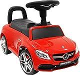 足けり乗用玩具 乗り物おもちゃ メルセデスベンツ BENZ C63 AMG 子ども用 [BENZ C63 COUPE No638] (RED)