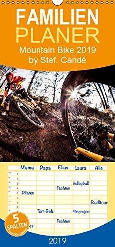 Mountain Bike 2019 by Stef. Candé - Familienplaner hoch (Wandkalender 2019 , 21 cm x 45 cm, hoch): Einige der besten Mountainbike-Action-Fotos von Stef. Candé! (Monatskalender, 14 Seiten )