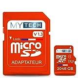 MyTech - Scheda di memoria Micro SD 2048 GB (2 TB) V1.3, capacità...