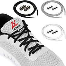 Elastic Shoe Laces for Kids Adults, No Tie laces with Lock Device for Sneakers