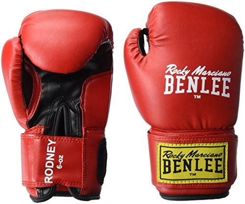 BENLEE Rocky Marciano Rodney Boxhandschuhe, Red/Black, 6 oz