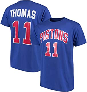 Detroit Pistons Isaiah Thomas NO.11 Basketball T-Shirt Summer Basketball Clothes Young Students Short-Sleeved Men And Wome...