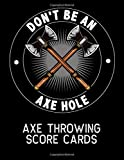Axe Throwing Score Cards: 200 Pages, Log Book, Gift,
