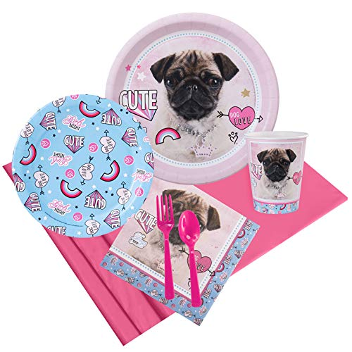 BirthdayExpress Rachael Hale Dog Love Party Pack for 8