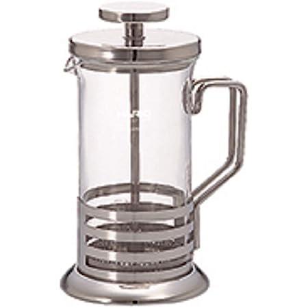 HARIO(ハリオ) ハリオール・ブライトj コーヒー & ティー プレス 2杯用 ステンレス THJ-2-HSV