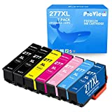 PicView Remanufactured Ink Cartridge Replacement for Epson 277 277XL Multipack for Expression XP-850 XP-860 XP-950 XP-960 Printer (2 Black, Cyan, Magenta, Yellow, Light Cyan, Light Magenta, 7 Packs)