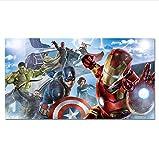 xingyundeshoop Film Héros Affiche Super-Héros Impression Iron Man Captain America Hulk Black Widow Marvel Wall Art Photo Décor À La Maison Peinture-Pas De Cadre 60X90Cm (Xyd-3315