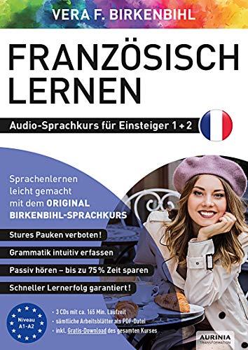Französisch lernen für Einsteiger 1+2 (ORIGINAL BIRKENBIHL): Audio-Sprachkurs auf 3 CDs inkl. Download