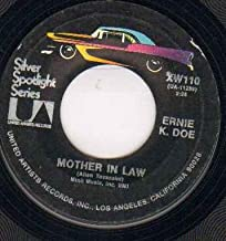 ERNIE K DOE - MOTHER IN LAW - reissue - 7 inch vinyl / 45 record