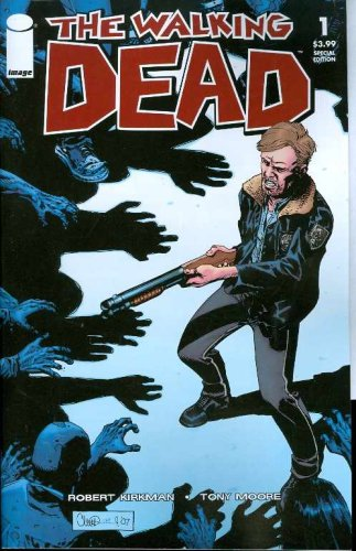 The Walking Dead #1 1st Print Special Edition Contains the Complete Walking Dead #1 + Original Script!! Very Low Print Run and Extremely Hard to Find!! (Walking Dead #1, Vol.1 Volume 1)