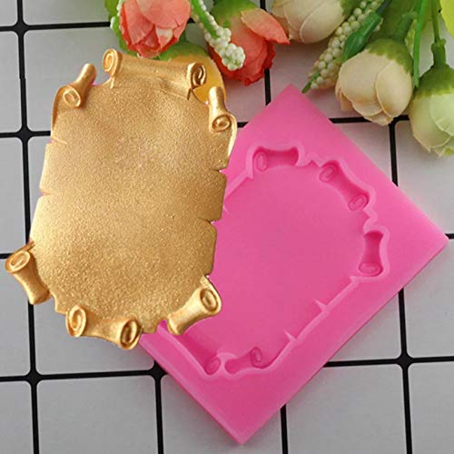 LNOFG Photo Frame Silicone Cake Mold Cake Decorating Tool Biscuit Baking Candy Clay Chocolate Mold