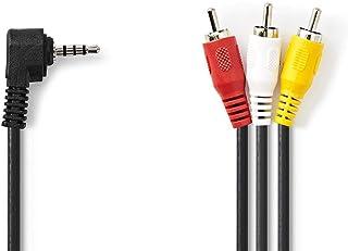 Nedis 3.5mm Male AV Cable - 3x RCA Male