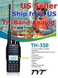 TYT TH-350 Tri-Band Radio 2 Meter, 1.25 Meter (220MHz), 70cm (440 MHz) Analog Radio Ship from US only