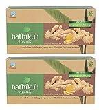 HATHIKULI ORGANIC Ginger Green Tea Bag, 100 Grams