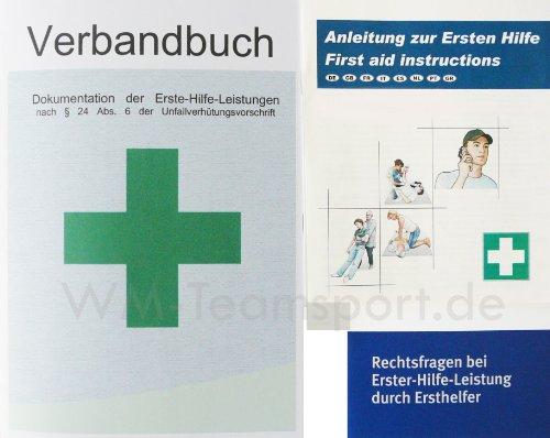 Verbandbuch mit Anleitung zur ersten Hilfe