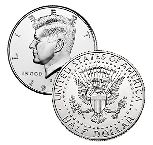 1 Various Mint Marks – 40% Kennedy Half Dollar Date Range-1965-1969 Half Dollar Uncirculated US Mint (1/2) Choice…