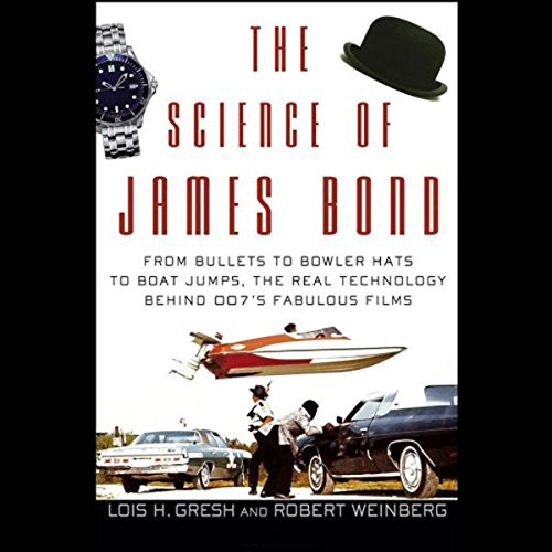 The Science of James Bond  audiobook cover art