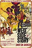 Cimily West Side Story Poster Vintage Blechschild
