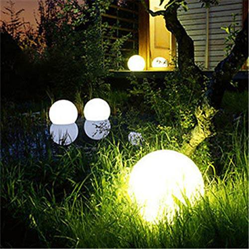 Star Supermarket, luce a LED a energia solare da giardino, cambia colore, impermeabile, per nuoto, piscina, esterni, lampada a sfera, per giardino, laghetto, piscina, feste