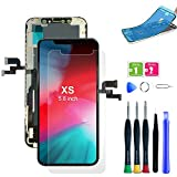 Display für iPhone xs mit Reparaturset Ersatz für LCD Touchscreen Digitizer (iPhone xs Display)