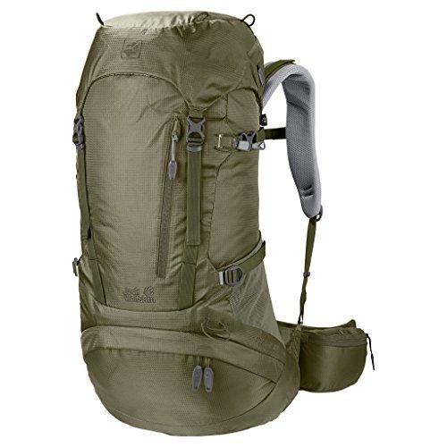 Jack Wolfskin Damen ACS Hike 38 Pack Rucksack, Khaki, ONE Size