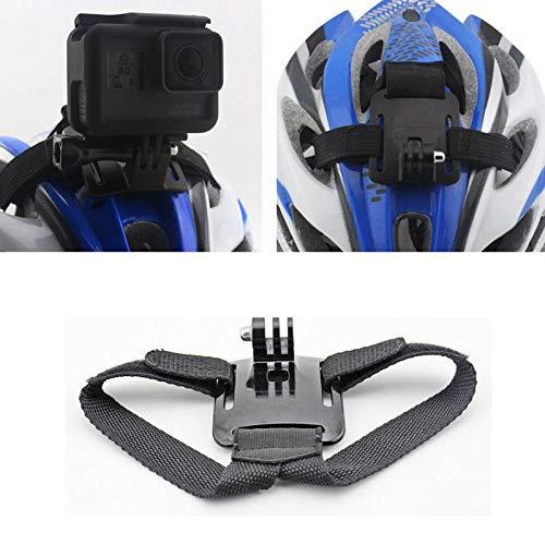Technobe.shop Houder voor fietshelm, verstelbaar, voor action-camera's