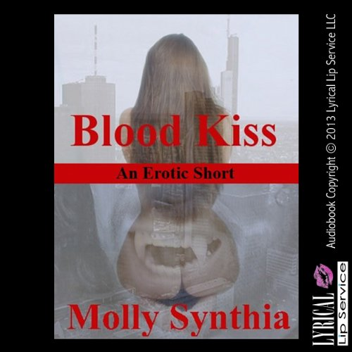 Blood Kiss audiobook cover art