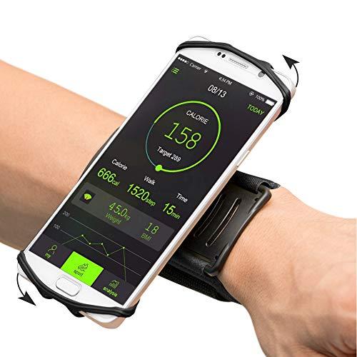 VUP Wristband Phone Holder, 360° Rotatable Forearm Armband for iPhone...