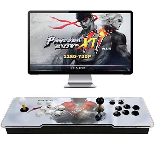 Happyroom Pandoras Box 11 Home Arcade Konsole Video Spiel-Konsole, 3001 in 1 Joystick Spielkonsole, 2 Spieler Arcade-Maschine , 1280x720 Full HD, HDMI und VGA Ausgang (11)