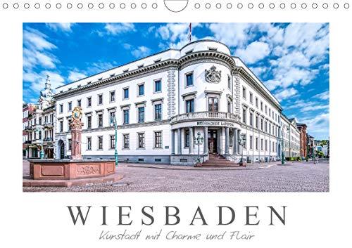 Wiesbaden Kurstadt mit Charme und Flair (Wandkalender 2021 DIN A4 quer)