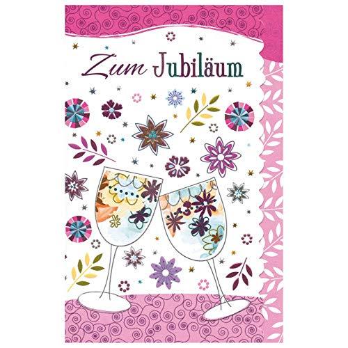Susy Card 40009964 Grußkarte zum Jubiläum