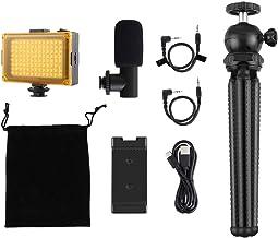 Hemobllo USB Microphone Condenser Microphone Bundle Mic Kit with Adjustable Arm for Studio Recording Brocasting