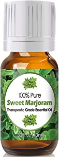 Sweet Marjoram Essential Oil for Diffuser & Reed Diffusers (100% Pure Essential Oil) 10ml