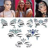 Halloween Face jewels festival Women Mermaid...