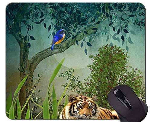 Tigerin und Cub Tiger Mauspad, Tiere Mauspads