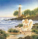 Jigsaw Puzzles for Adults 1000 Piece Puzzle for Adults 1000 Pieces Puzzle 1000 Pieces-Lighthouse and Angel Puzzle
