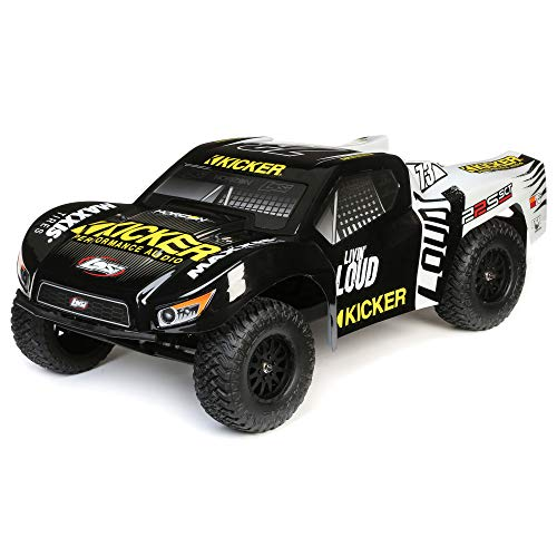 Losi RC Truck SCT Brushed RTR (Ready-to- Run), Black (LOS03022T2)