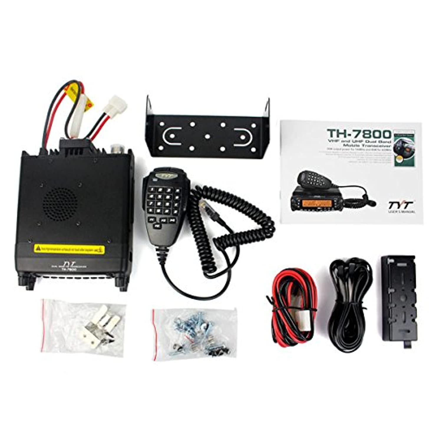 TH-7800 Dual Band 136-174/400-480MHz 50W VHF/40W UHF Mobile Transceiver