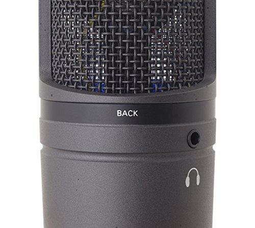 audio-technicaオーディオテクニカUSBマイクロホンAT2020USB+テレワーク/在宅勤務/生放送/録音/ポッドキャスト/実況ブラック