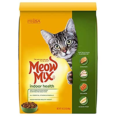 Meow Mix Indoor Health Dry Cat Food, 14.2 Pounds