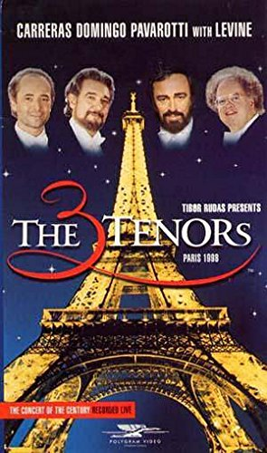 The Three Tenors: Paris 1998 [VHS]
