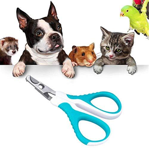 lffopt Corta UñAs De Perro CortauñAs Perro Uña de Gato Clippers Perro Tijeras de uñas Cortaúñas para Gatos Cortador de uñas de Perro Blue